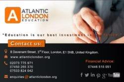 Atlantic London – Consultanta Cursuri in UK